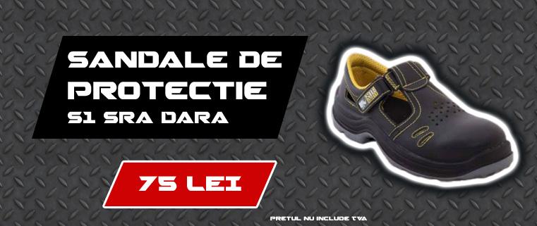 Sandale De Protectie S1 SRA Dara