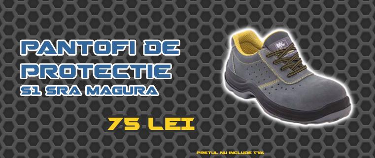 Pantofi De Protectie S1 SRA Magura