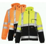 Jacheta polar fleece reflectorizanta Mulhouse
